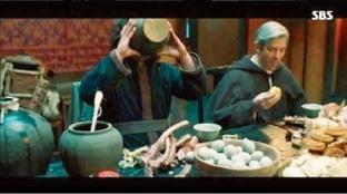드라마 '조선구마사'의 역사 왜곡 논란 장면. 사진=SBS 캡처