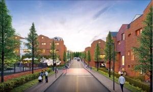 알비디케이, 아파트 시스템 도입한 단지형 주택 '라피아노'