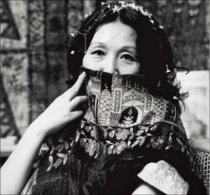천경자 화백(1975년)