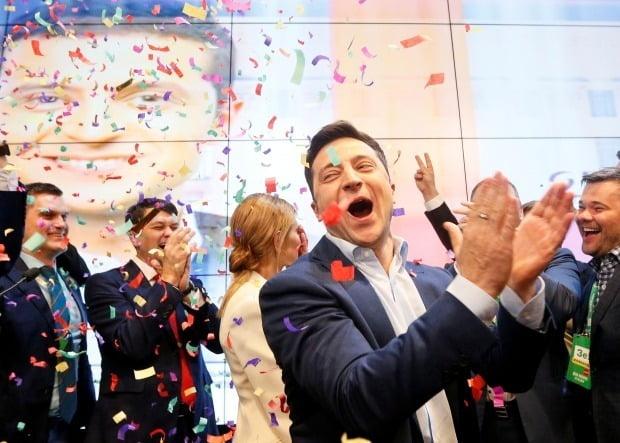 볼로디미르 젤렌스키 우크라이나 신임 대통령/사진=로이터