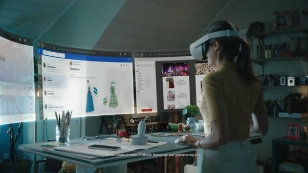 페이스북이 구상한 미래 사무실 '인피니트 오피스'/페이스북