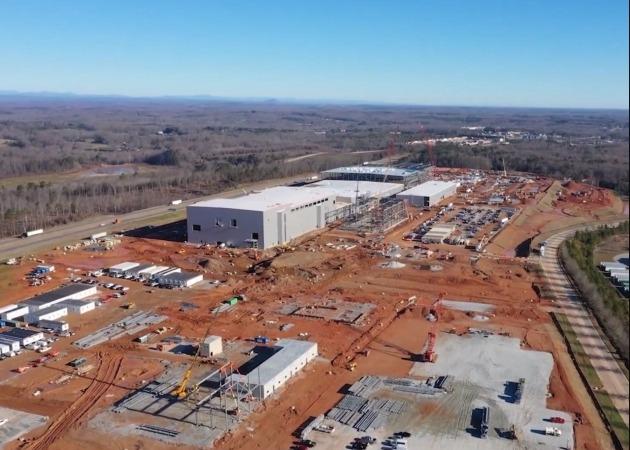 SK이노베이션이 미국 조지아주에 짓고 있는 전기차 배터리 1공장 전경 /SK이노베이션 제공