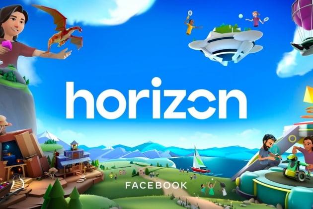 페이스북이 베타서비스로 선보인 VR 커뮤니티 플랫폼 호라이즌/페이스북