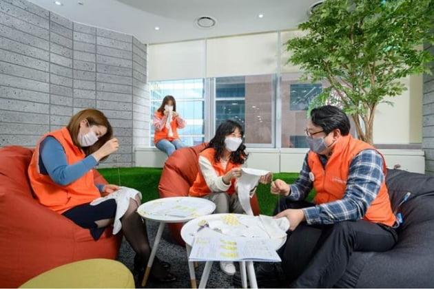 오렌지라이프 '오렌지희망재단' 보육원 및 한부모 시설 아동을 위한 임직원 봉사활동