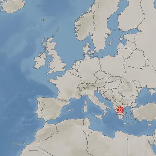 그리스 테살리아 라리사 북서쪽서 규모 6.3 지진 발생