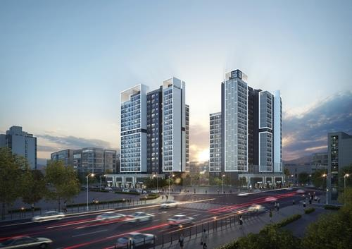 서울 올해 첫 분양아파트 자양하늘채베르 청약률 367대 1