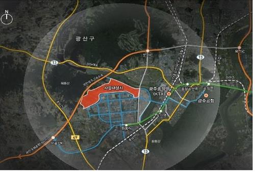 """시민단체 """"광주 평동 준공업지역 개발은 재벌 특혜""""(종합)"""
