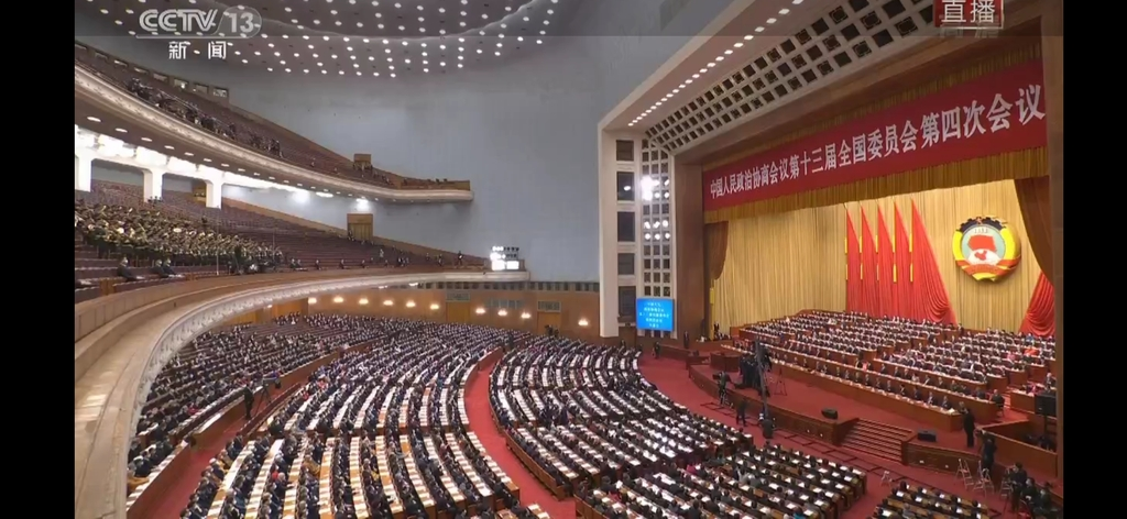 """'코로나백신 중무장' 중국 양회 개막…""""시진핑 중심 단결""""(종합)"""