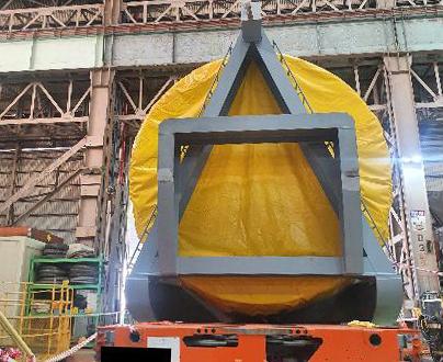 두산중공업서 운송업체 직원 100t 무게 부품에 깔려 숨져