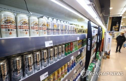 불매운동 느슨해졌나…일본 맥주 수입 5개월째 증가