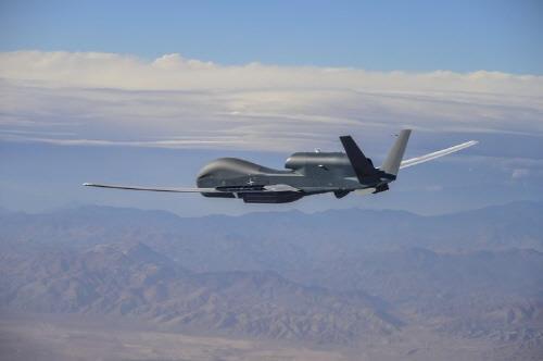 미군 RQ-4D 무인정찰기, 대만 방공식별구역 진입