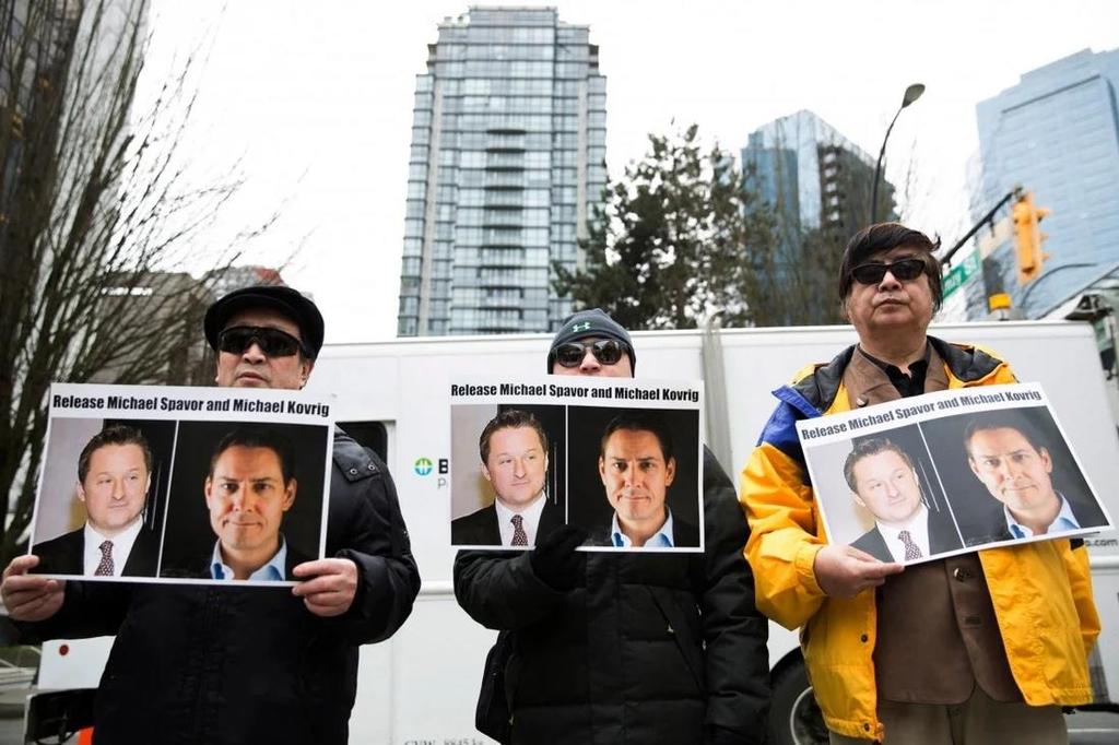 """""""구금 중인 캐나다인 2명 수일 내 재판""""…중국, 캐나다에 통보"""