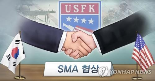 한미 방위비분담협정 가서명…양국 외교·국방장관 참석