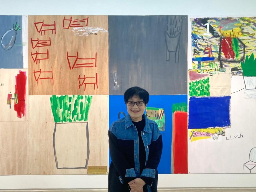 """1세대 여성화가 이명미 """"예술가는 끝없이 전진해야"""""""