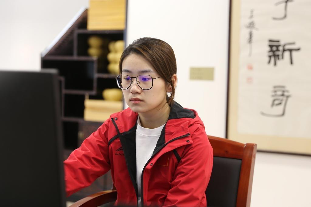 최정, 우에노 꺾고 결승 진출…위즈잉과 우승 격돌
