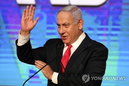 이스라엘 총선 개표율 88%…네타냐후 재집권 또 '가물'