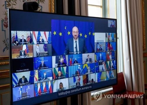 바이든, EU 정상들에 '중국 우려' 표명하며 유럽과 협력 강조