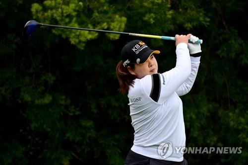 박인비, 올해 첫 대회 1R 6언더파 선두…김효주 1타차 2위(종합)