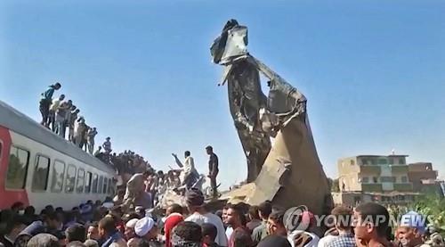 이집트 검찰, 열차 추돌참사 기관사 등 약물검사 지시