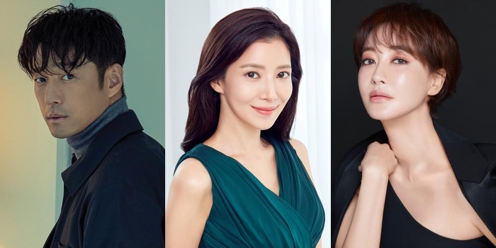 지진희-윤세아-김혜은, tvN 새 드라마 '더 로드' 출연