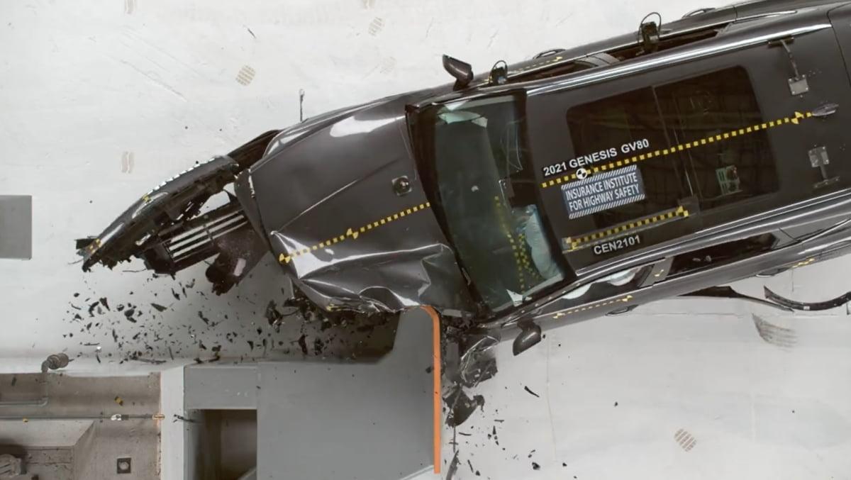 우즈가 몰았던 GV80, `가장 안전한 차` 선정…사고 원인은? [궁금타]