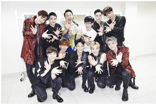 엑소, '댄싱퀸' 음원 수익 4년째 기부…총 2억 7900만원 [공식]