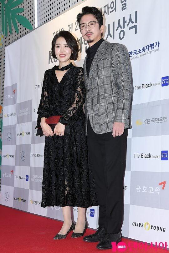 방송인 이하정(왼쪽)과 배우 정준호/사진 = 텐아시아 사진DB