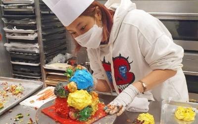 솔비, '곰팡이 케이크 논란' 입 열었다