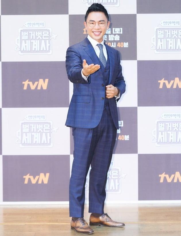 '벌거벗은_세계사'의 설민석/ 사진=tvN 제공