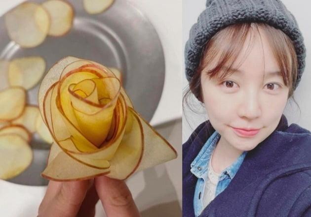 요리를 예술로 승화시키는 윤은혜./윤은혜 인스타그램
