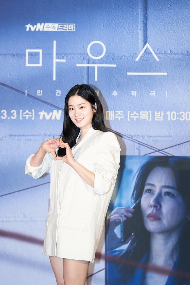 '마우스'에서 박주현은 할머니와 단 둘이 사는 문제적 고등학생 오봉이로 분한다. /사진제공=tvN