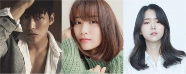 배우 남궁민, 박하선, 김지은./사진=각 소속사 제공