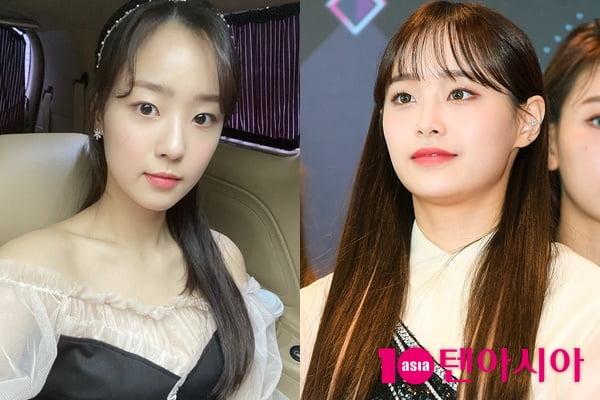 배우 최예빈(왼쪽), 이달의 소녀 츄/ 사진=인스타그램, 텐아시아DB