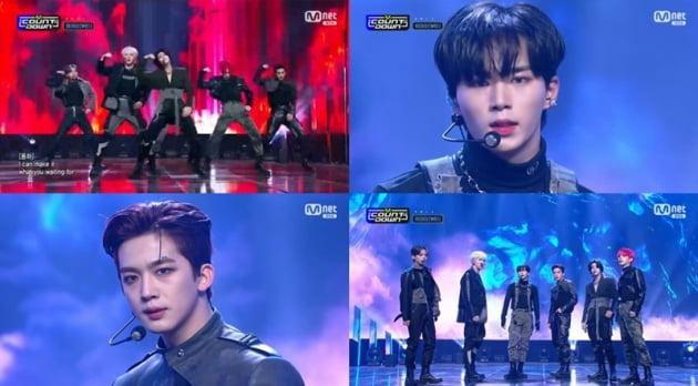 '엠카운트다운' 위아이 / 사진 = Mnet 영상 캡처