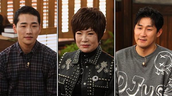 '강호동의 밥심' 박군(왼쪽), 김연자, 나상도/ 사진=SBS플러스 제공