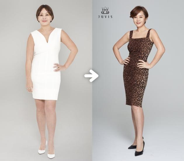이승연, 9kg 감량 후 호피 원피스 입고 과감한 포즈