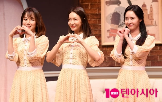 [TEN 포토] 오세미-신소율-배우희 '아름다운 메리 스미스'(스페셜 라이어)