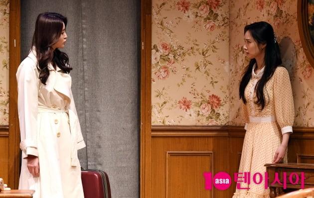 [TEN 포토] 박정화-배우희 'EXID와 달샤벳 연극무대에서 만남'(스페셜 라이어)
