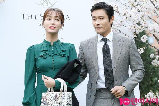배우 이민정(왼쪽) 이병헌 부부/ 사진=텐아시아DB
