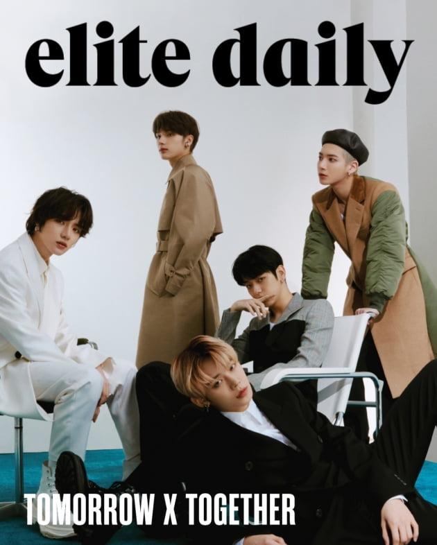그룹 투모로우바이투게더 / 사진제공-Elite Daily