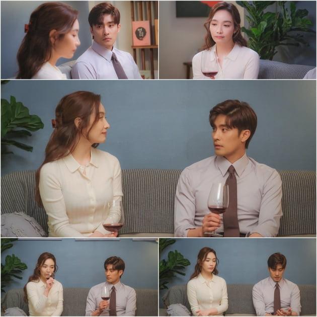 '결사곡' 성훈X이민영, 인생 멘토에서 연인으로? /사진=TV조선 제공