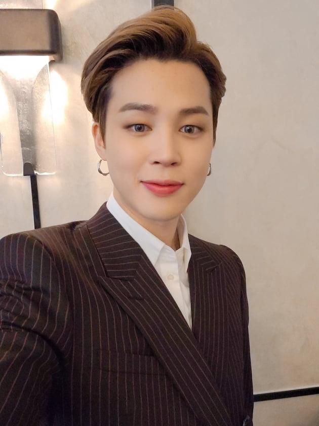 그룹 방탄소년단의 지민 / 사진=방탄소년단 공식 트위터