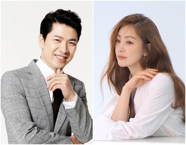 배우 김상경(왼쪽), 오나라가 '라켓소년단'에 캐스팅됐다. / 사진제공=국엔터테인먼트, 후시엔터테인먼트