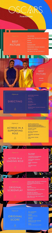 영화 '미나리'가 제93회 아카데미 시상식에서 6개 부문 후보에 올랐다. / 사진=AMPAS 아카데미 최종 후보 발표 유튜브 생중계 캡처