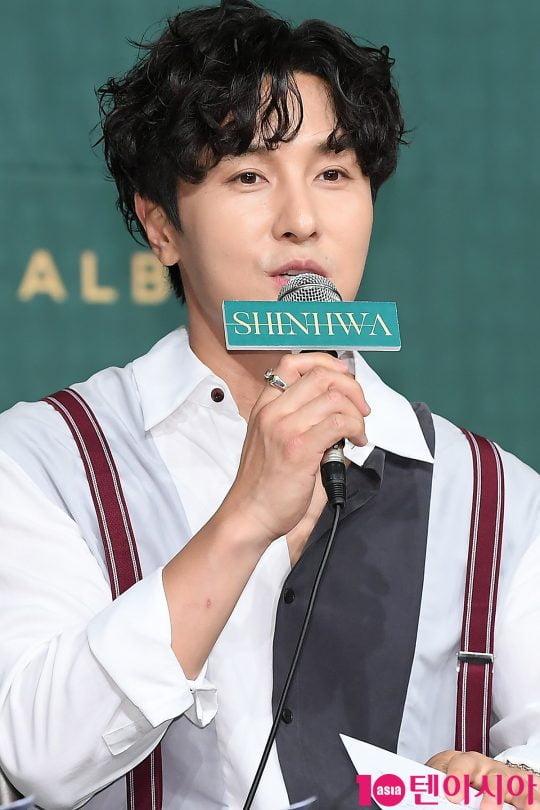 그룹 신화의 김동완 / 사진=텐아시아DB