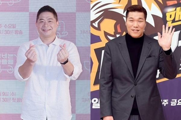 전 농구선수 현주엽(왼쪽), 서장훈/ 사진=KBS, 텐아시아DB