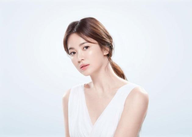 """""""아름다움의 끝은 어딜까""""…송혜교, 송윤아의 미모 칭찬에 '웃음'"""