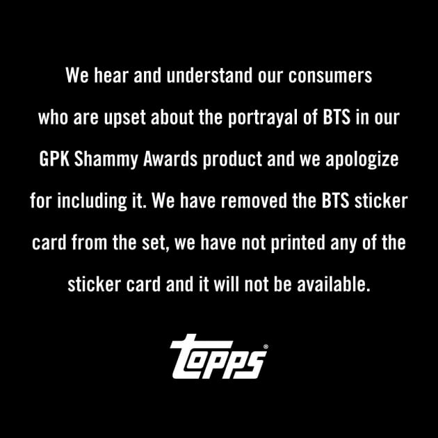 美 카드회사, 방탄소년단 인종차별 논란에 사과했지만 비난 여전