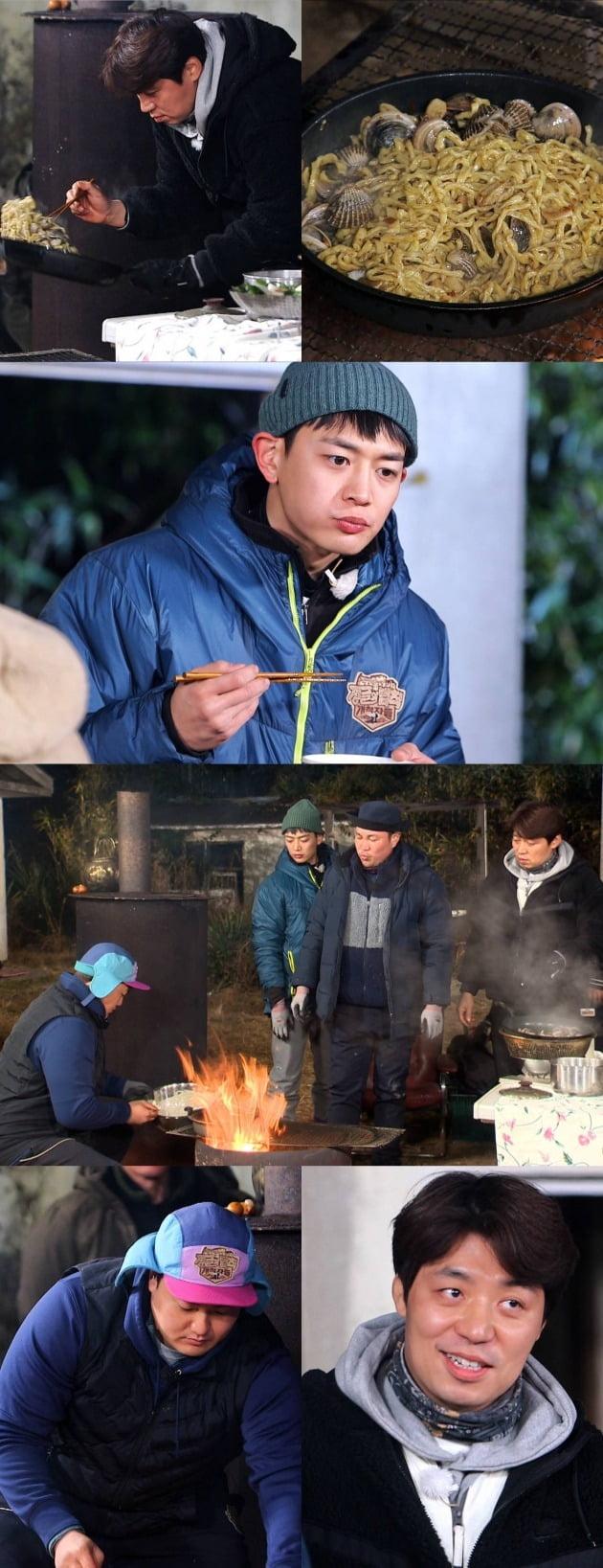 '정글의 법칙 개척자들'에서 송훈 셰프의 제철 식재료 한상이 공개된다. / 사진제공=SBS