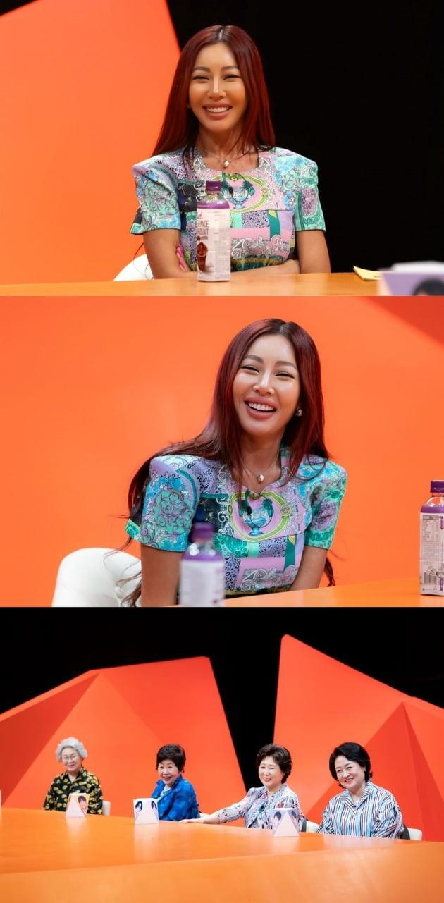 제시가 '미운 우리 새끼'의 스페셜MC로 함께했다. / 사진제공=SBS